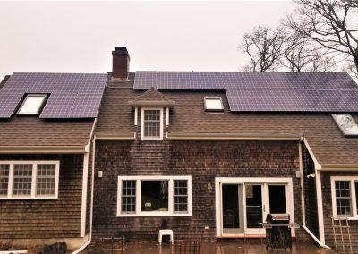 12.25kW Solar Installation in W.Tisbury
