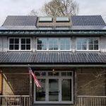 solar installation woodshole