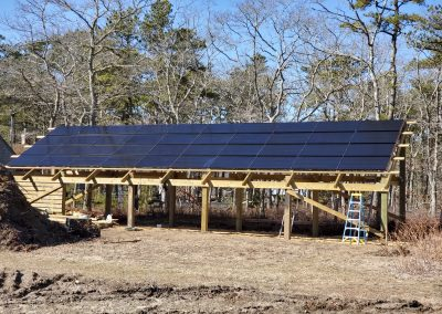 11.8kW Solar Pole Barn