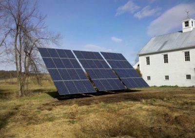 Solar Ground Mount Installation
