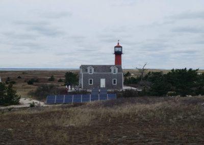 Monomoy Lighthouse Off Grid Solar Installation