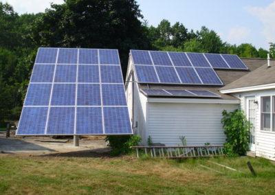 Ground & Pole Mount Solar Installation